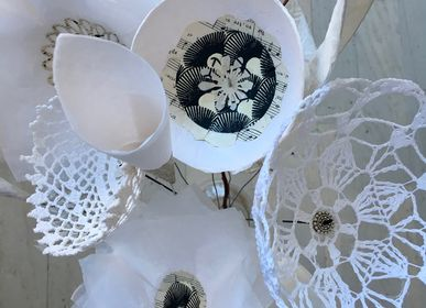 "Floral decoration - Bouquets ""Lace"" Dream Catcher Paper Flowers Alex Hackett - ALEX HACKETT"