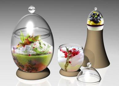 Chocolate - Glass eggs - SILODESIGN - PARIS
