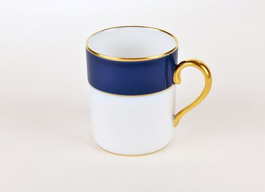 Mugs - The matt gold ELEGANCE mug - ALAIN BABULE