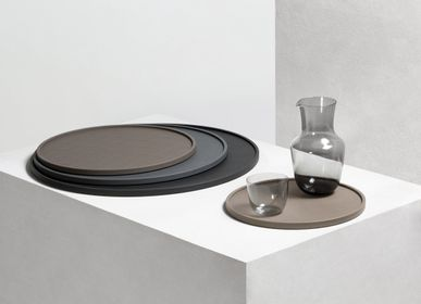 Trays - LEATHER SERVEWARE AND HOSPITALITY - GIOBAGNARA