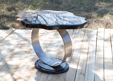 "Coffee tables - coffee table ""black ring"" - HYGGE DESIGN"