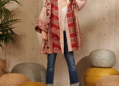 Ready-to-wear - Kimono in silk - LA CABANE DE STELLA