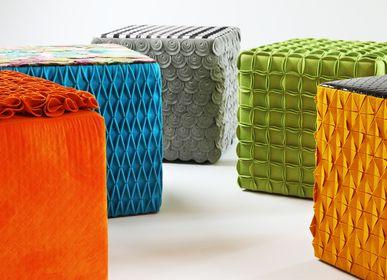 Tabourets - Cube couleurs tabourets - EVA.CAMPRIANI