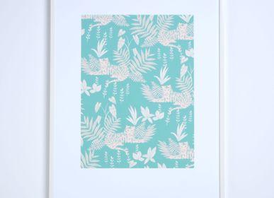 Poster - A4 / A3 prints  - SEASON PAPER COLLECTION