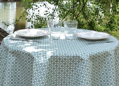 Table cloths - Wipeable tablecloth sand mosaic - FLEUR DE SOLEIL