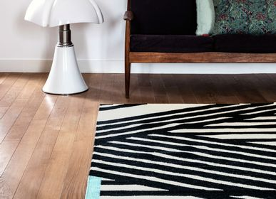 Design - Woolen Kilim rug Stripes - AFKLIVING DESIGNER RUGS