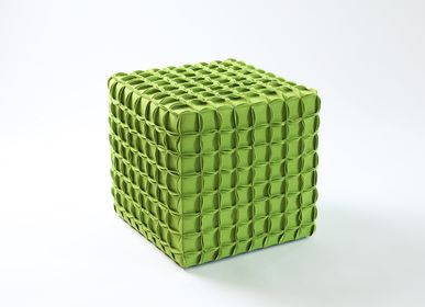 Tabourets - Tabouret Cube - EVA.CAMPRIANI