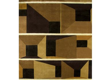 Bespoke - BLACK AND BROWN WEST RUG - RUG'SOCIETY