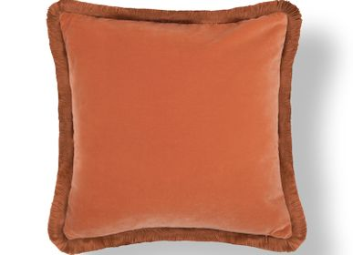 Hotel rooms - ORANGE Nº3 CUSHION - RUG'SOCIETY