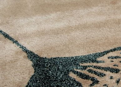 Bespoke - BLACK AND NUDE MACUSHI RUG - RUG'SOCIETY