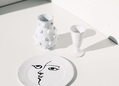 Céramique - Assiette Creuse Toi et Moi dessiné par Mathilde Carron-Astier de Villatte et Pierre Carron - CARRON PARIS