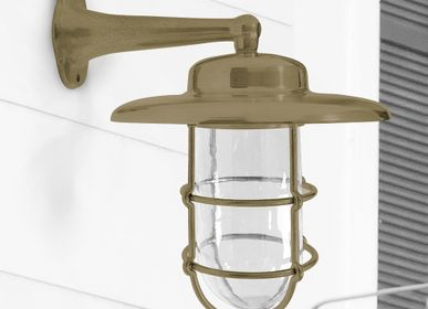 Appliques - Brass Wall Sconce no 753 - ANDROMEDA LIGHTING