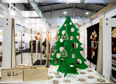 Christmas decoration - Wooden ornaments - NORD DECO