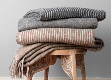 Throw blankets - Merino wool blankets - ERIKA VAITKUTE LINEN
