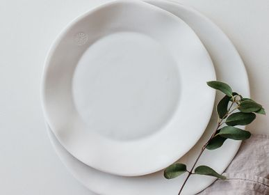 Everyday plates - Assiette plate - SOPHIE MASSON PORCELAINE