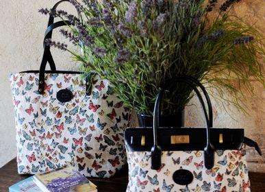 Bags and totes - Collection of Accessories Les Fleurs by Royal Tpisserie - ROYAL TAPISSERIE MADE IN FRANCE