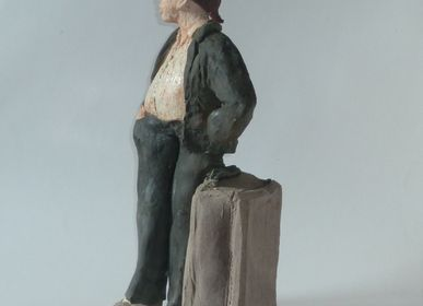 Ceramic - Traveling Fellow Sculpture - ELISABETH BOURGET