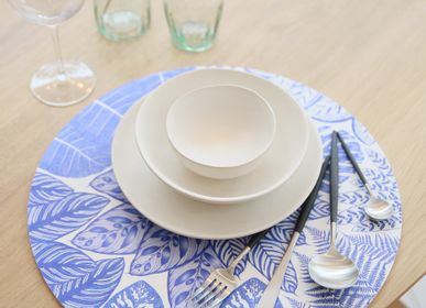Placemats - Sets de table - Lauranne BIC - Bleu - MAISON BERHT