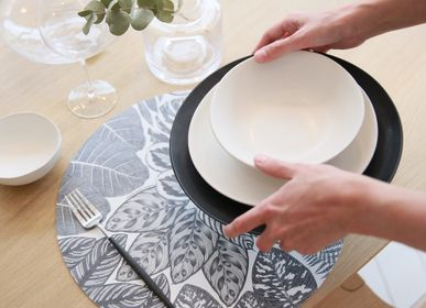 Placemats - Sets de table - Lauranne BIC - Noir - MAISON BERHT
