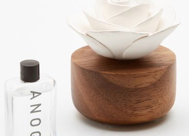 Ceramic - Fragrance & Essential Oils Diffuser - Gardenia Aromatic Flower - ANOQ