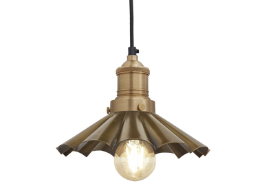 Suspensions - Brooklyn Umbrella Pendant - 8 Inch - INDUSTVILLE