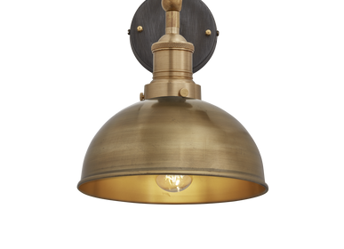 Wall lamps - Brooklyn Dome Wall Light - 8 Inch - INDUSTVILLE
