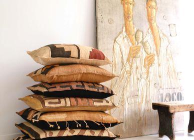 Fabric cushions - Kuba Cloth cushions - ML FABRICS