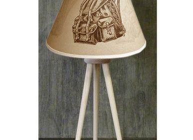 """Customizable objects - SKI MOUNTAIN LAMPS COLLCTION """" TRIPODE """" - LA MAISON DE GASPARD / FP CONCEPT"""