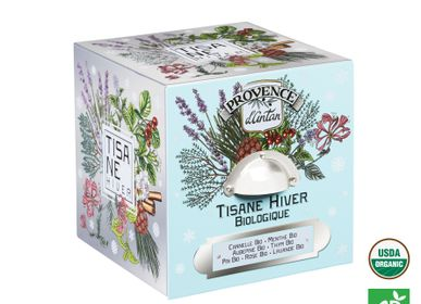 Coffee and tea - Organic Winter Herbal tea - PROVENCE D ANTAN