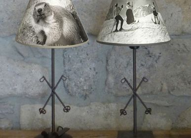 "Customizable objects - MOUNTAIN LAMPS "" ZENITH ""COLLECTION - LA MAISON DE GASPARD / FP CONCEPT"