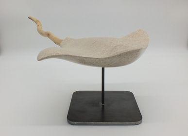 Sculptures, statuettes and miniatures - Eagle of the Seas - LUCIE DELMAS SCULPTURE