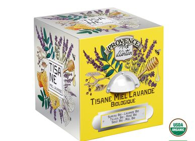 Coffee and tea - Organic Honey Lavender Herbal tea - PROVENCE D ANTAN