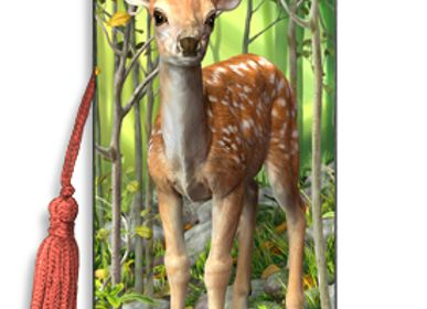 Stationery / Card shop / Writing - 3D BOOK MARKS - CATWALK