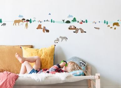 Children's bedrooms - FRIEZE - NORTHERN FOREST - MIMI'LOU