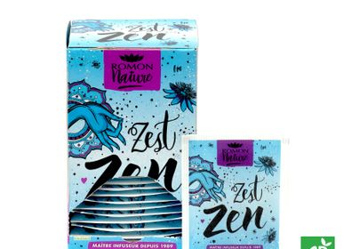 Coffee and tea - Organic Zest Zen Infusion  - ROMON NATURE