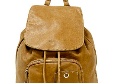 Bags and totes - Leather backpack, bag ELLIE - .KATE LEE