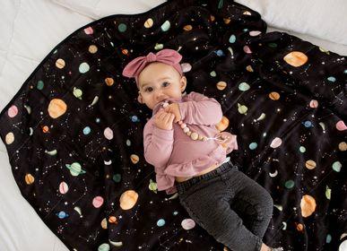 Kids accessories - Muslin Swaddle - Planets - LOULOU LOLLIPOP
