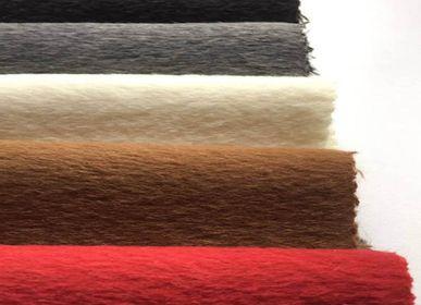 Objets de décoration - Tissu au mètre Suave en Baby Alpaga. - INNATA