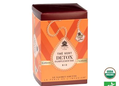 Coffee / tea - Organic Detox Grapefruit Green Tea - PLANTASIA