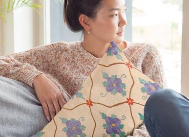 Cushions - Daisy Garden Suzani Cushion - HERITAGE GENEVE