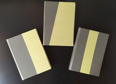 Papeterie - Carnet bicolore - LEGATORIA LA CARTA