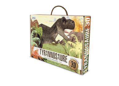 Bureaux d'enfants - Maquettes 3D - L'ère des dinosaures. Le tyrannosaure 3D - SASSI JUNIOR