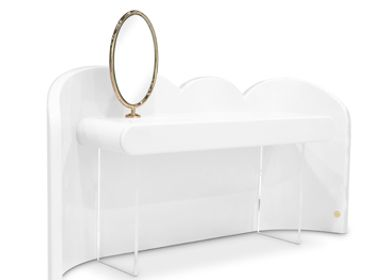 Children's bedrooms - Cloud Vanity Console White - CIRCU