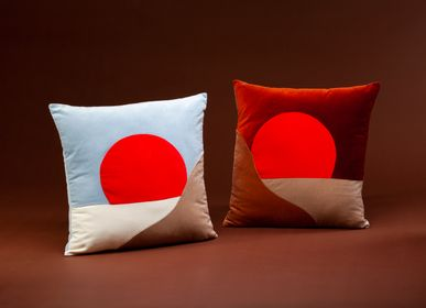 Fabric cushions - SUNRISE and SUNSET cushions - MY FRIEND PACO