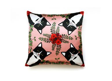 Fabric cushions - CLEO Silk cushion - MY FRIEND PACO