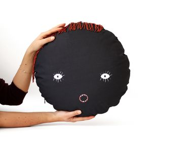 Fabric cushions - FACE cushions - MY FRIEND PACO