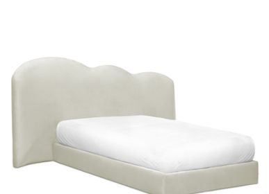 Beds - Cloud Bed Cream Velvet - CIRCU