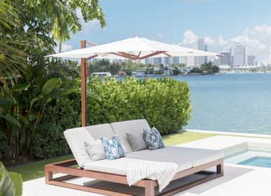 Sunshades - Equinox Double Chaise Lounge - TUUCI