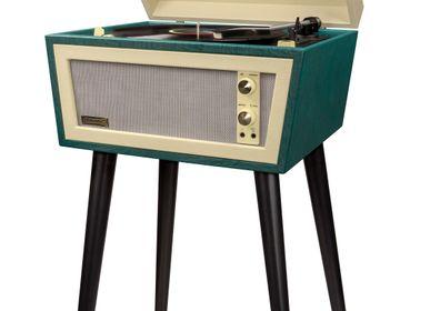 Enceintes et radios - Tourne-disque Crosley Sterling Bluetooth vert - CROSLEY RADIO