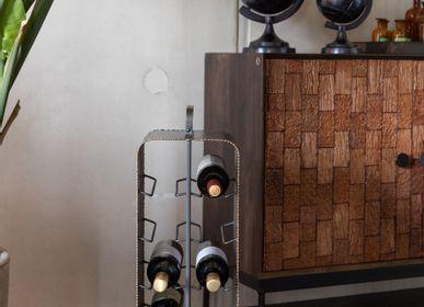 Trolley - Stalwart wine rack  - DUTCHBONE